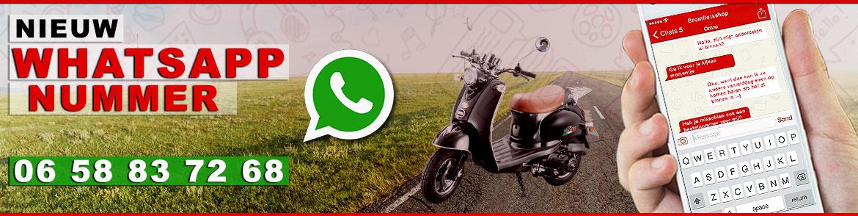 Nieuw Whatsapp nummer!